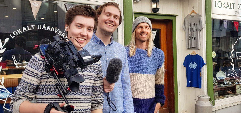 UIS TV PÅ BESØK HOS KANT