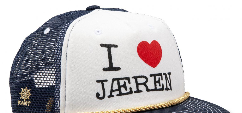 FERSK I LOVE JÆREN CAPS
